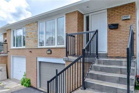 Townhouse for rent at 2349 Whaley Dr Unit Upper Mississauga Ontario - MLS: W4494950