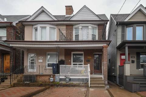Townhouse for rent at 237 Symington Ave Unit Upper Toronto Ontario - MLS: W4517614