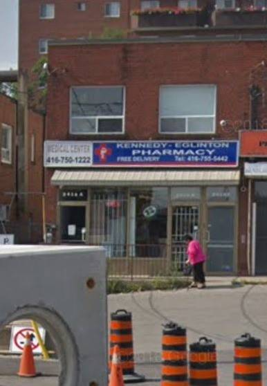Commercial property for lease at 2416 Eglinton Ave Apartment Upper Toronto Ontario - MLS: E4473913