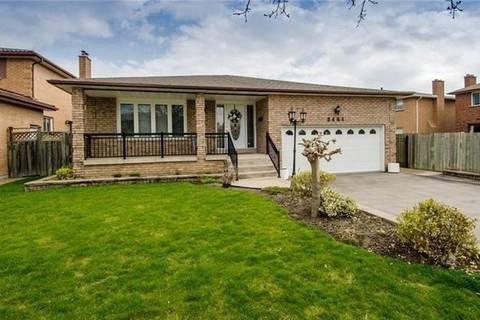 House for rent at 2461 President Blvd Unit Upper Mississauga Ontario - MLS: W4475770