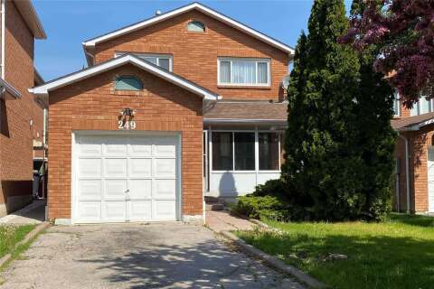 House for rent at 249 Tuscadero Cres Unit (Upper) Mississauga Ontario - MLS: W4769478