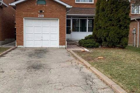 House for rent at 249 Tuscadero Cres Unit Upper Mississauga Ontario - MLS: W4721204