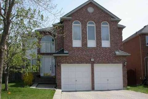 House for rent at 25 Westmoreland Ct Unit Upper Markham Ontario - MLS: N4641160