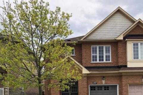 Townhouse for rent at 27 Krakow St Unit Upper Brampton Ontario - MLS: W4769922