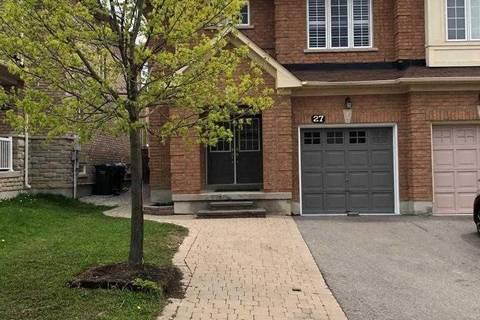 House for rent at 27 Krakow St Unit Upper Brampton Ontario - MLS: W4453218