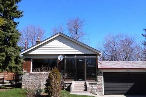 House for rent at 34 Shandara Cres Unit Upper Toronto Ontario - MLS: E4688817