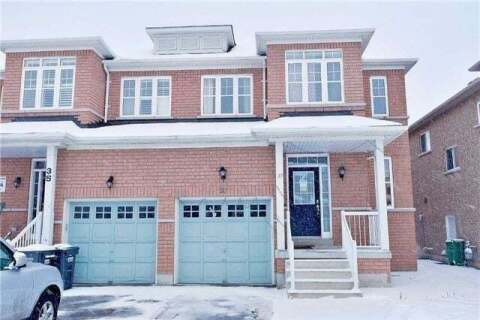 Townhouse for rent at 37 Pergola Wy Unit (Upper) Brampton Ontario - MLS: W4821284