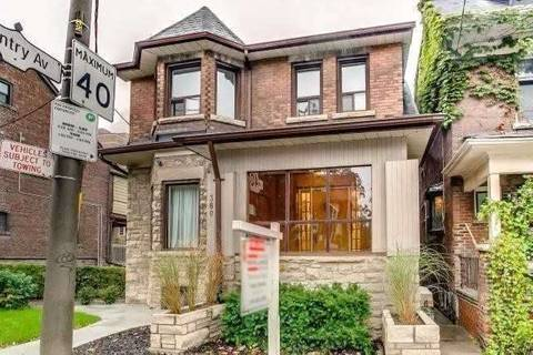House for rent at 380 Spadina Rd Unit Upper Toronto Ontario - MLS: C4752177