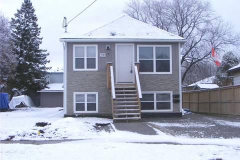 Townhouse for rent at 391 Oshawa Blvd Unit Upper Oshawa Ontario - MLS: E4659482