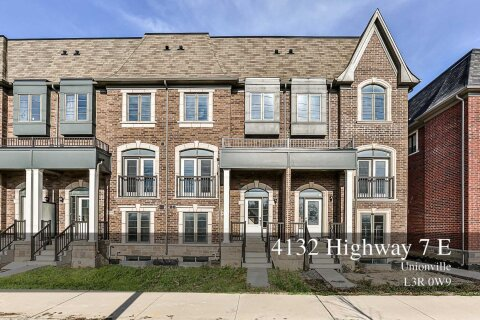 Townhouse for rent at 4132 Highway 7 Rd Unit Upper Markham Ontario - MLS: N4984188