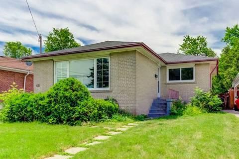 House for rent at 48 Celeste Dr Unit Upper Toronto Ontario - MLS: E4519620