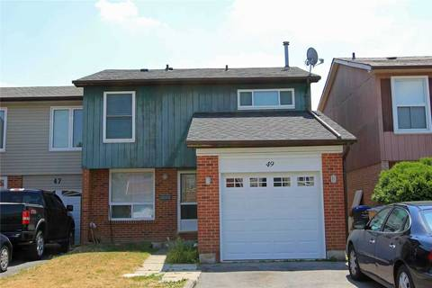 Townhouse for rent at 49 Cowan Rd Unit Upper Brampton Ontario - MLS: W4694214
