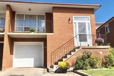 Townhouse for rent at 49 Crayford Dr Unit Upper Toronto Ontario - MLS: E4678538