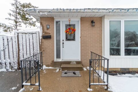 Townhouse for rent at 5 Dalton Pl Unit (Upper) Brampton Ontario - MLS: W4993095