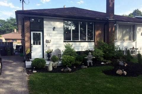 Townhouse for rent at 51 Marbury Cres Unit Upper Toronto Ontario - MLS: C4626871