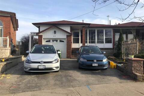 Townhouse for rent at 55 Snowhill Cres Unit Upper Toronto Ontario - MLS: E4778512