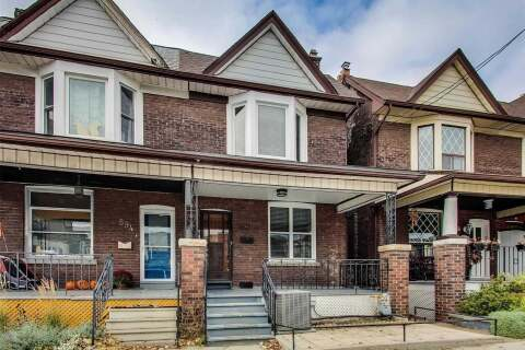 Townhouse for rent at 596 Dufferin St Unit Upper Toronto Ontario - MLS: C4922971
