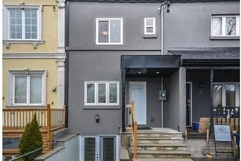 Townhouse for rent at 6 Bridgman Ave Unit Upper Toronto Ontario - MLS: C4625248