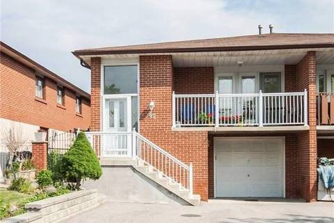 Townhouse for rent at 62 Hazelnut Cres Unit Upper Toronto Ontario - MLS: C4601172