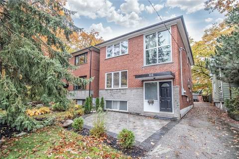 House for rent at 66 Queensbury Ave Unit Upper Toronto Ontario - MLS: E4538947