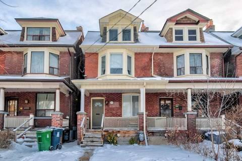 Townhouse for rent at 759 Markham St Unit Upper Toronto Ontario - MLS: C4708654