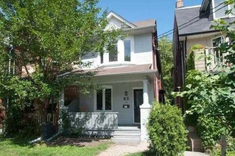 Townhouse for rent at 93 Rainsford Rd Unit Upper Toronto Ontario - MLS: E4950046