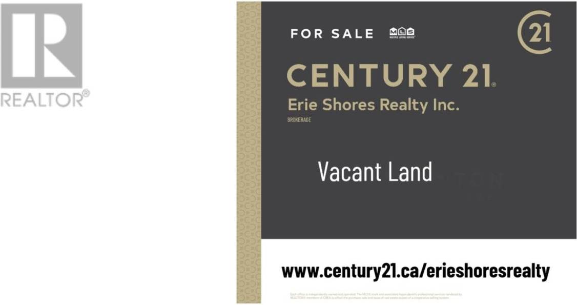 Residential property for sale at V/L Old Vineyard Rd Pelee Island Ontario - MLS: 19020734