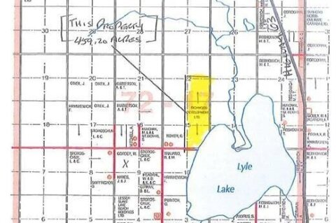 Residential property for sale at W/R 459.2 Acres - 3 Quarters - Half Mile Lakefront!  Wandering River Alberta - MLS: FM0175322