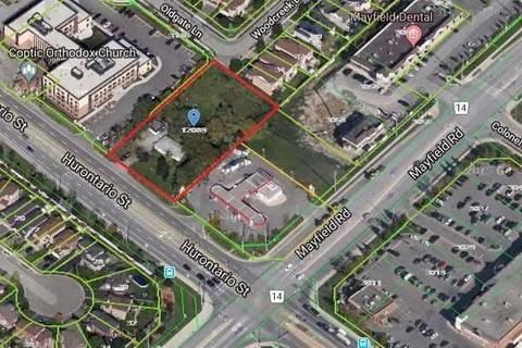 Home for sale at 12039 Hurontario St Brampton Ontario - MLS: W4659612