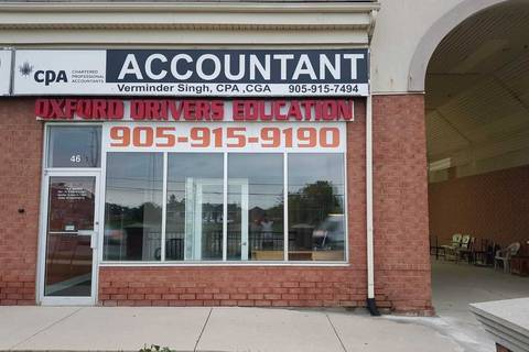 Commercial property for sale at 8887 The Gore Rd Unit 46 Brampton Ontario - MLS: W4753543