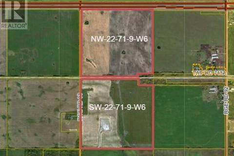 Home for sale at 0 22-71-9-w6  Beaverlodge Alberta - MLS: GP205174