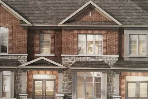 Townhouse for sale at 0 Side Of Hahn St Whitby Ontario - MLS: E4480955