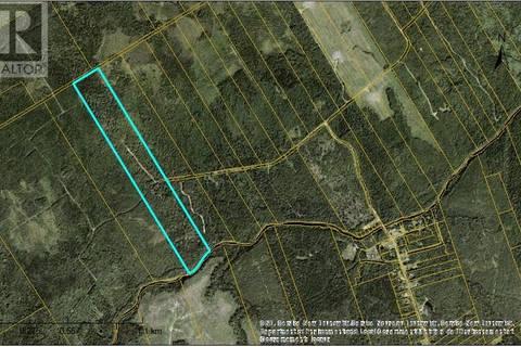 Residential property for sale at 0 Poirier Office Settlement Rd Notre Dame New Brunswick - MLS: M118975
